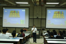 SupEEEr Mario, a quiz contest for students and faculty members in EEE Day 1