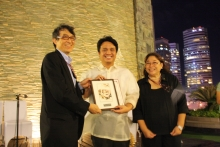Dr. John Richard Hizon received the Best Paper Award for their paper- A Novel Power-Efficient HD3 Cancellation for High Linearity, Pseudo-Differential OTA
