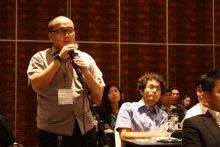 Question and Answer portion after plenary session