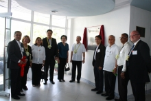 Guests of honor during the UP-EEEI Building Inauguration