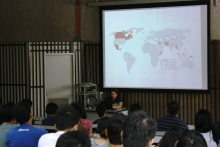 The UP-Electrical and Electronics Engineering Institute (UP-EEEI) hosted a talk about Community Cellular Networks, held in ASTEC Multimedia Hall, EEEI Building, April 30, 2015