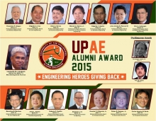 UPAE Homecoming 2015 Awardees