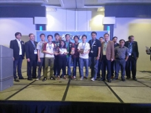 The UP IECEP bested 35 schools in the 6th National IECEP Inter-Scholastic Quiz Show, held on 10 December, at the SMX Convention Center. (Photo by Millianne Chavez)