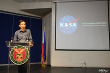 Engr. Marc Caesar Talampas, Project Leader of the PHL-Microsat program-Project 1
