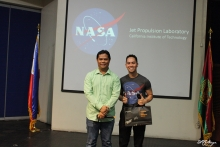 Dr. Rhandley Cajote (Deputy Director for Students and Alumni, UP EEEI) and NASA Engr. Gregory Villar III