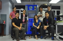 CharM Charger Prototype 1 with the Technical Project Team at UP EEEI Power Electronics Laboratory