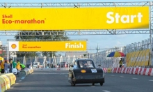 Team UP's Kislap posted a mileage of 40.5km-kWh, under Urban Category, Battery-Electric Type (Photo by Shell-Philippines)