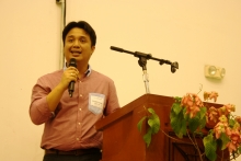 Dr. John Richard Hizon called for everyone's support in making EEEI a national institute, during the Director's Report